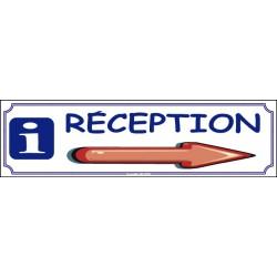 PANNEAU RÉCEPTION DIRECTIONNEL - 700 X 200 X 10