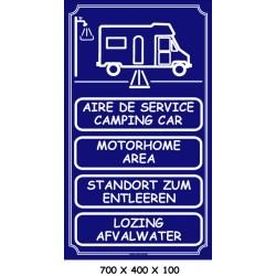 AIRE DE SERVICE 4 L - 700 X 400 X 10