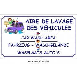AIRE LAVAGE 4L - 400 X 700 X 10 AVEC MODIFICATION