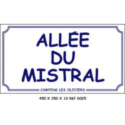 ALLÉE - 450 X 250 X 10