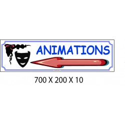 ANIMATIONS D - 700 X 200 X 10
