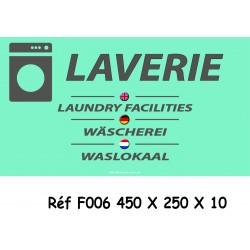 PANNEAU LAVERIE4L - 450 X 250 X 10