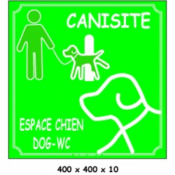 CANISITE - 400 X 400 X 10