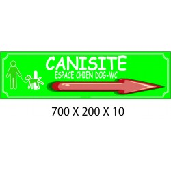 CANISITE G - 700 X 200 X 10