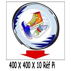 CHAUSSURE ICI - 400 X 400 X 10
