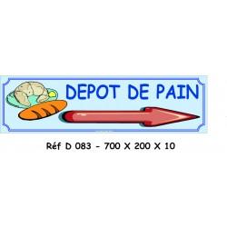 DÉPÔT PAIN D - 700 X 200 X 10