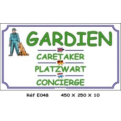 GARDIEN 4L - 450 X 250 X 10