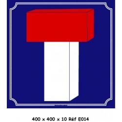 PANNEAU VOIE SANS ISSUE - 400 X 400 X 10