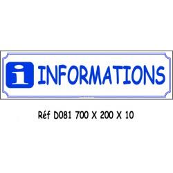 INFORMATION - 700 X 200 X 10