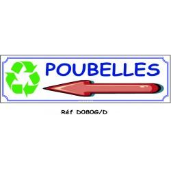 POUBELLES D - 700 X 200 X 10