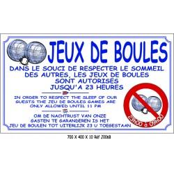BOULES RESPECT SOMMEIL NL 3L - 700 X 400 X 10