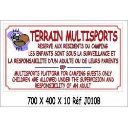 TERRAIN MULTISPORTS 2L- 700 X 400 X 10