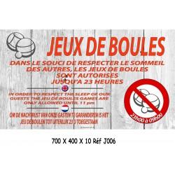 PANNEAU BOULES RESPECT SOMMEIL NL 3L - 700 X 400 X 10